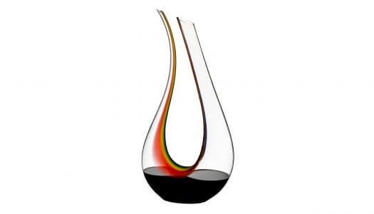 Riedel Introduces Amadeo Double Magnum Rainbow Decanter