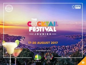 The Cocktail Festival Jounieh-Lebanon - August 17th -20th, 2017, event thumb