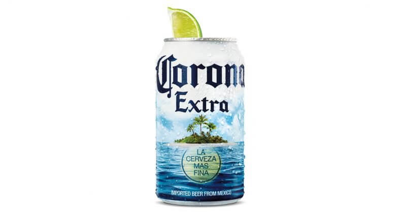 """Corona Launches Limited-Edition """"Summer Beach"""" Can, featured image"""