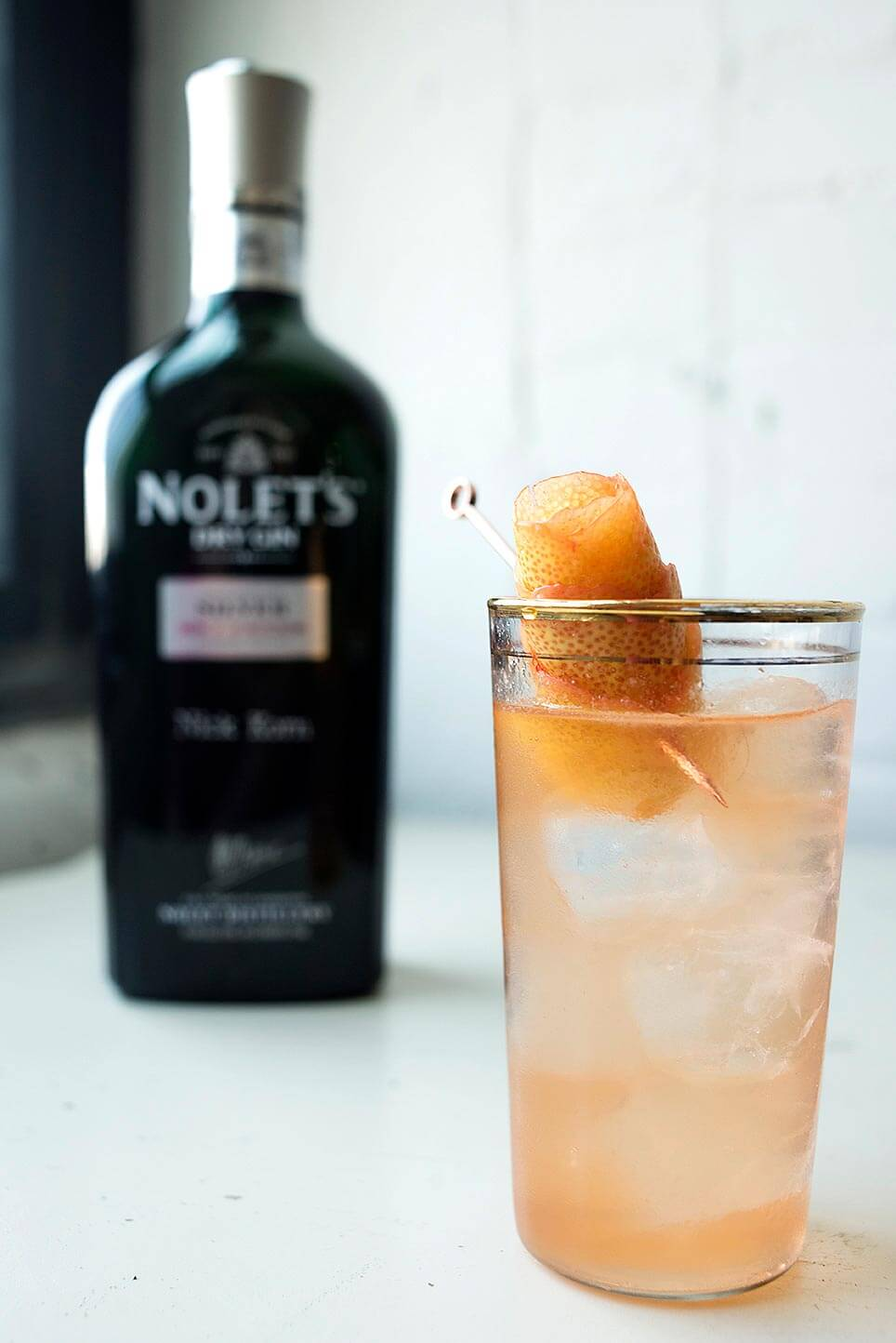 I Can't Believe It's Not Grapefruit cocktail