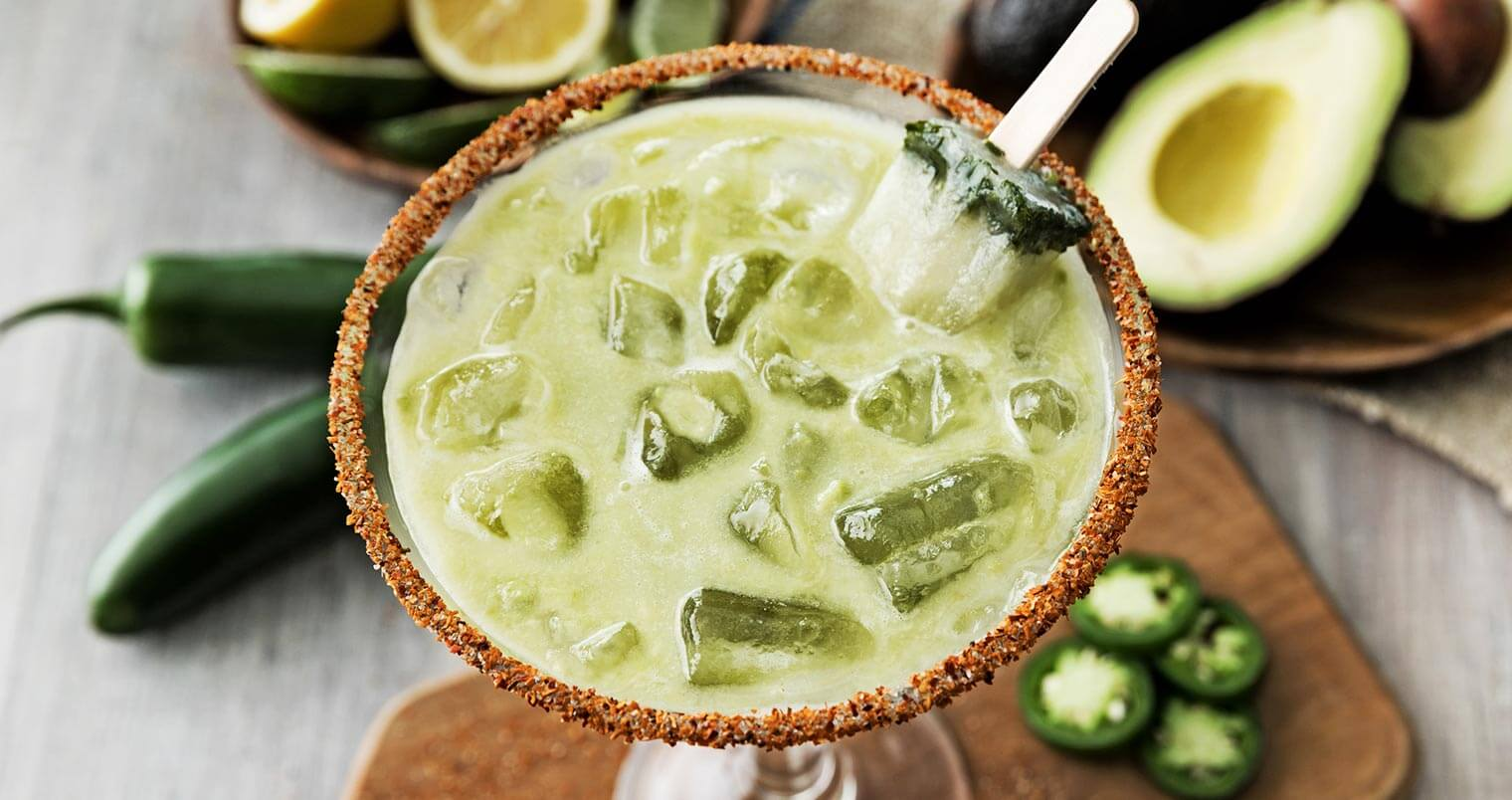 Must Mix: Spicy Jalapeño Avocado Margarita, featured image