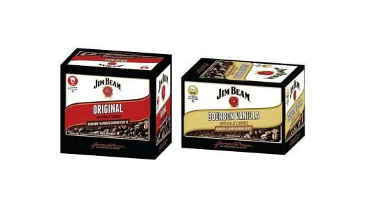Jim Beam Bourbon Flavored Coffee Launches