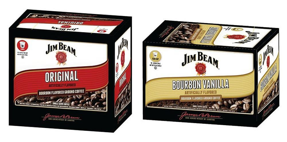 Jim Beam Bourbon Flavored Coffee Launches, packages