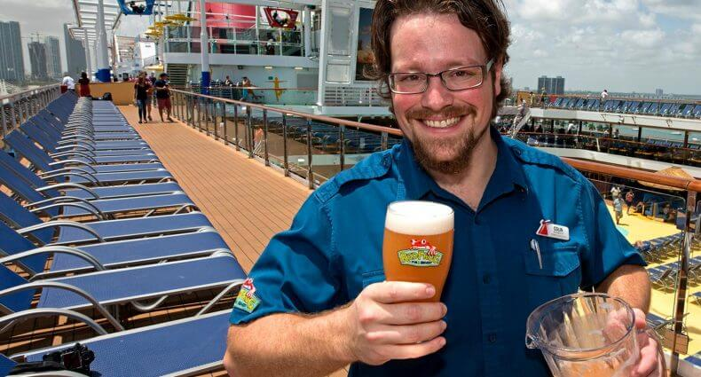 Carnival Cruise Line Brews New Miami Guava Wheat Beer Aboard Carnival Vista, featured image