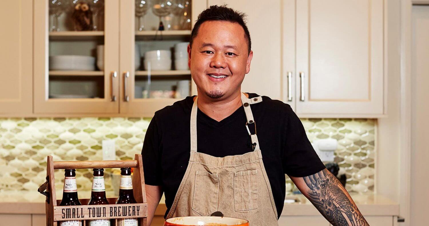 Small Town Brewery Partners with Celebrity Chef Jet Tila for