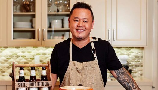 "Small Town Brewery Partners with Celebrity Chef Jet Tila for ""Not Your Father's Day"" Program"