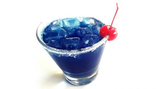Easy to Mix: Electric Blue Cocktail