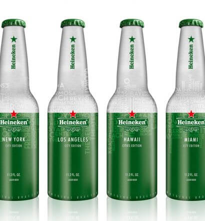 Heineken Unveils Aluminum Bottles in Four Select Cities, featured image