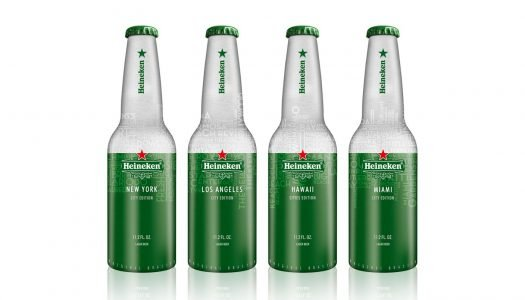 Heineken Unveils Aluminum Bottles in Four Select Cities