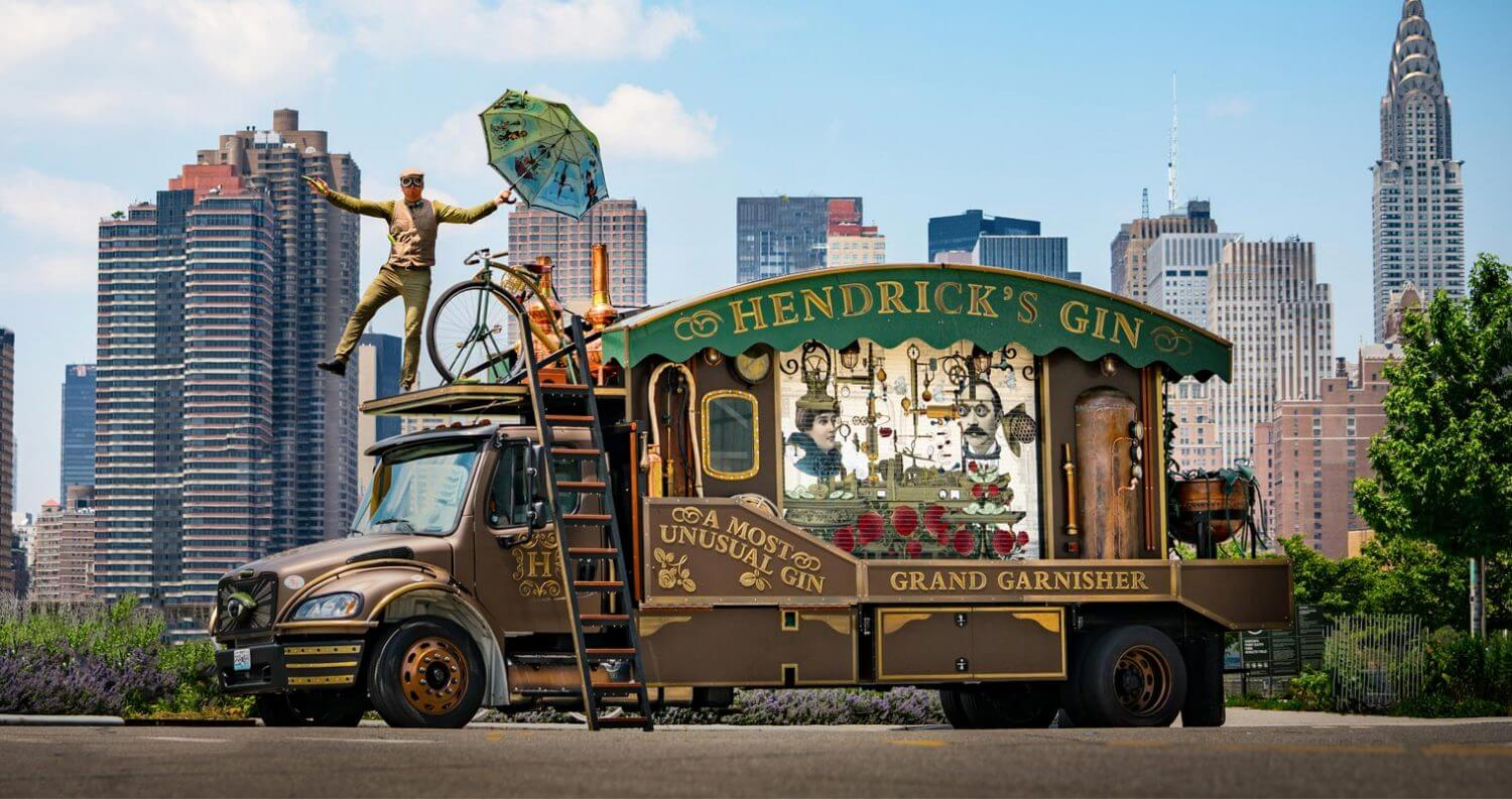 Hendrick's Gin to Cross America in a Giant Cucumber Garnisher, featured image