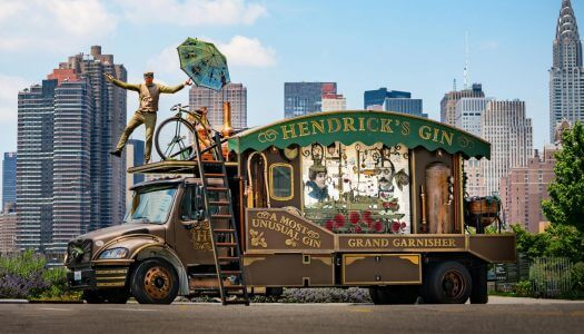 Hendrick's Gin to Cross America in a Giant Cucumber Garnisher