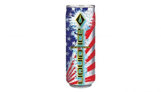 Liquid Ice Energy Drink Launches Limited Edition America Can