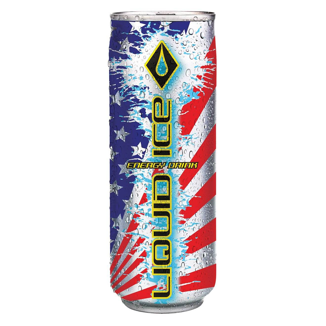 Liquid Ice Energy Drink Limited Edition America Can