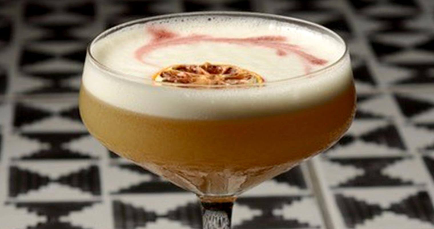Pachamama Sour Cocktail from DÔA Miami, featured image