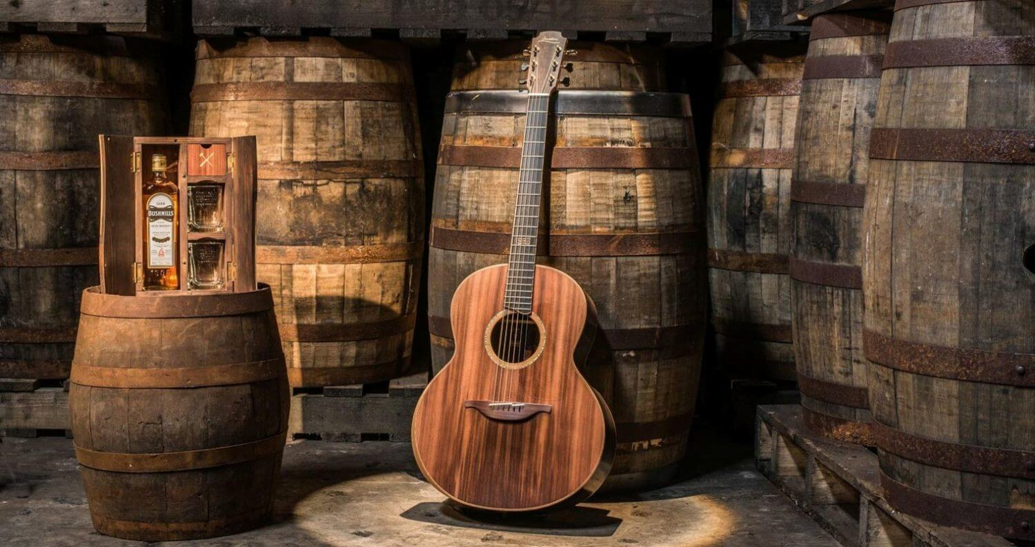 Bushmills And Lowden Guitars Launch Guitar Made From