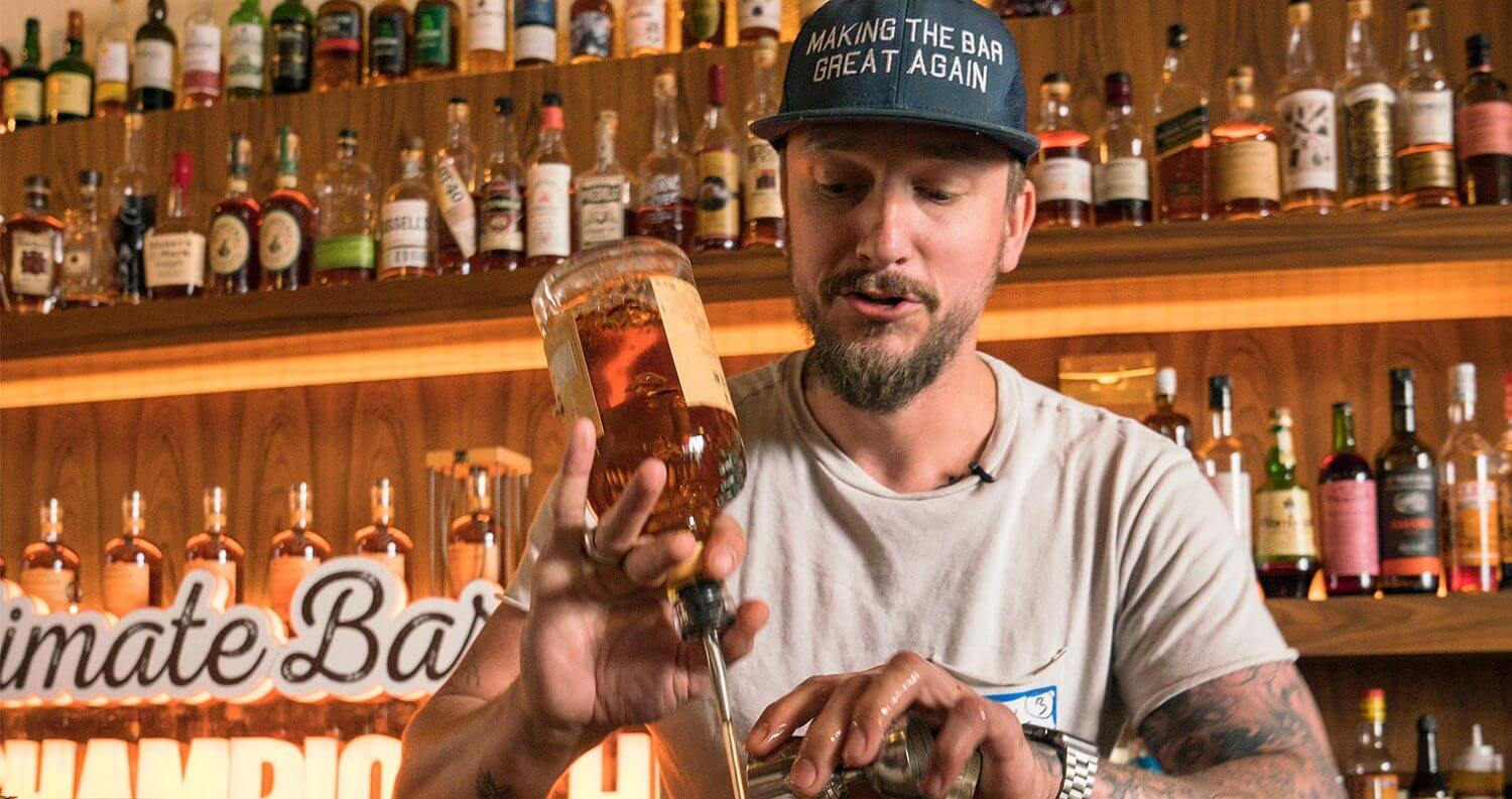 Anthony Bohlinger Wins Monkey Shoulder Ultimate Bartender Championship, featured image