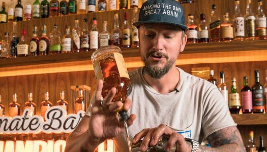 Anthony Bohlinger Wins Monkey Shoulder Ultimate Bartender Championship