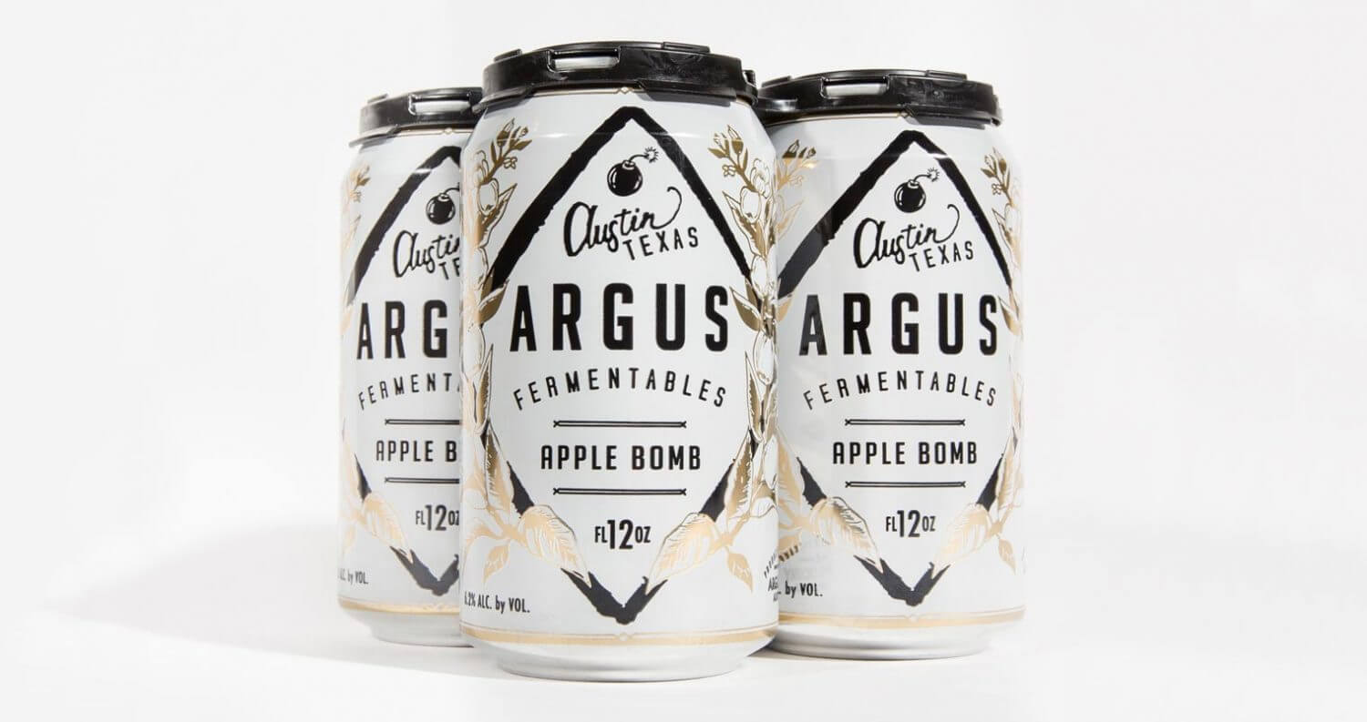 Austin's Argus Cidery Launches Apple Bomb, featured image