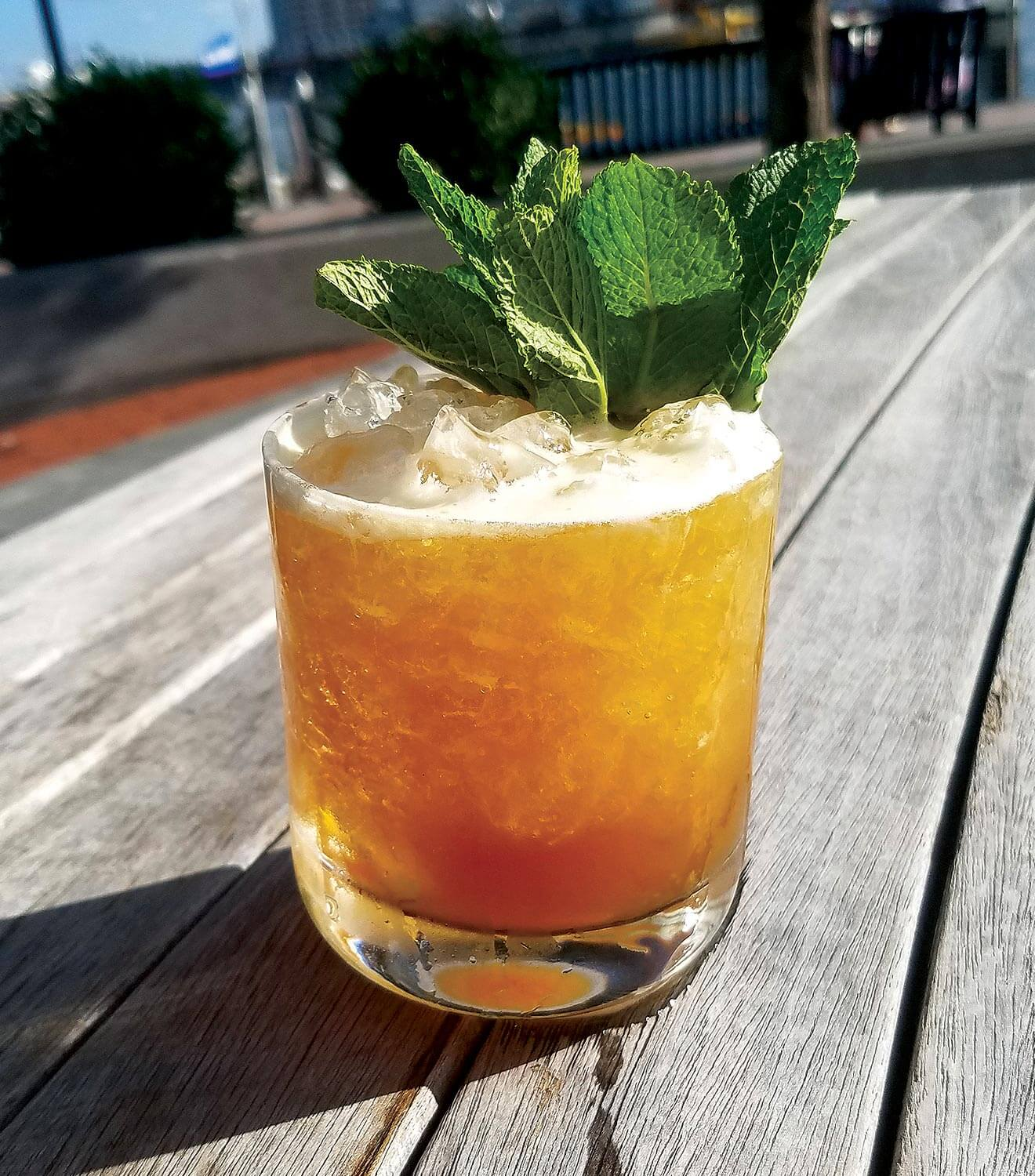 Creole Cup cocktail