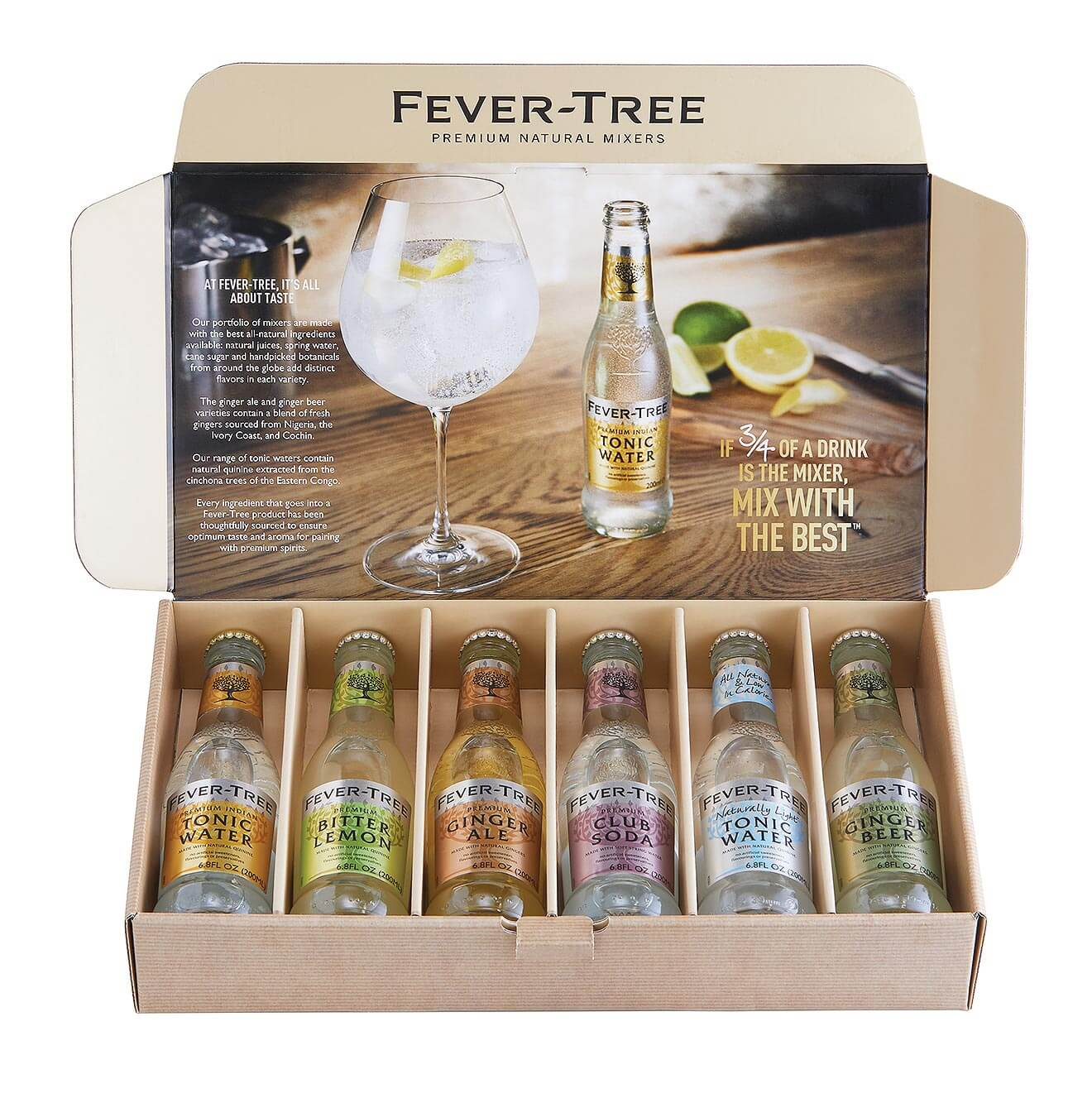 Fever Tree Boxed Gift Set
