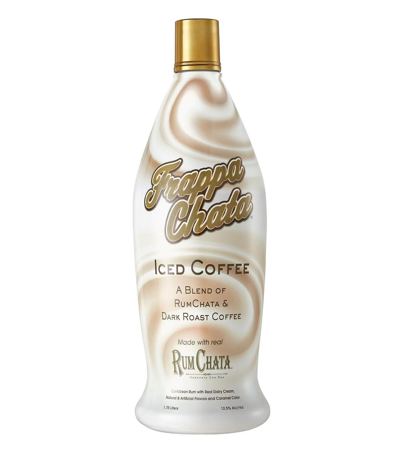 frappachatta bottle, rumchatta blended coffee to go