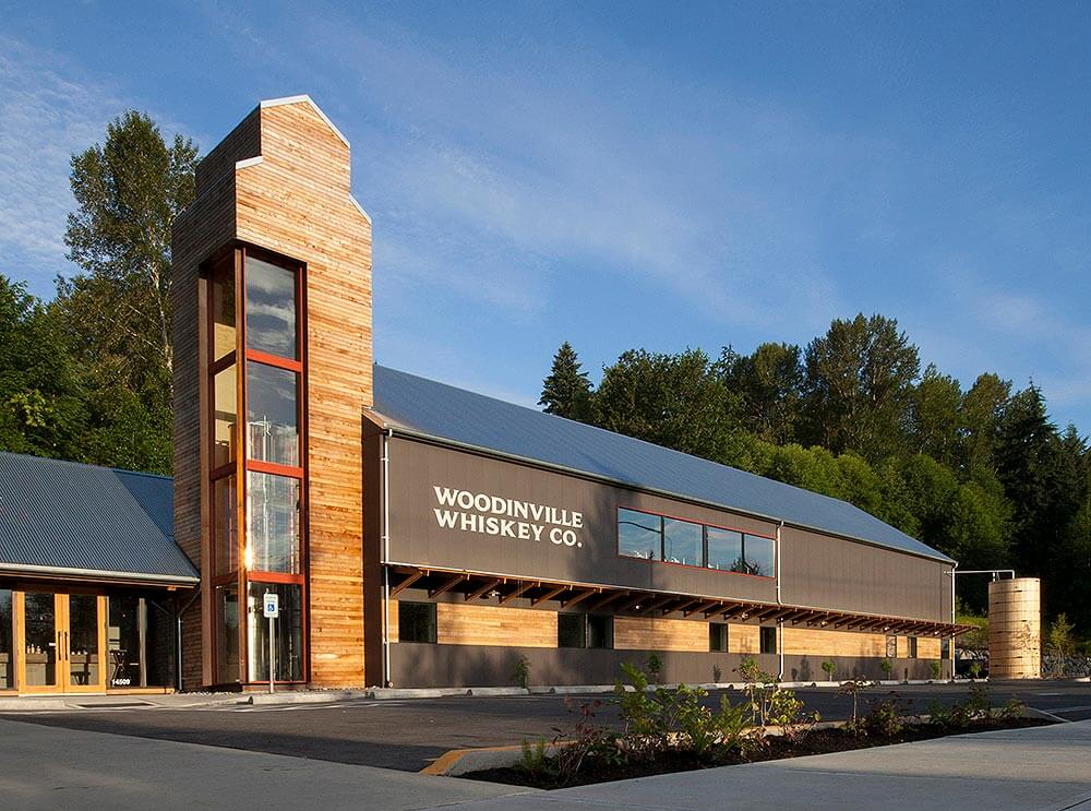 Woodinville Whiskey Distillery, exterior front