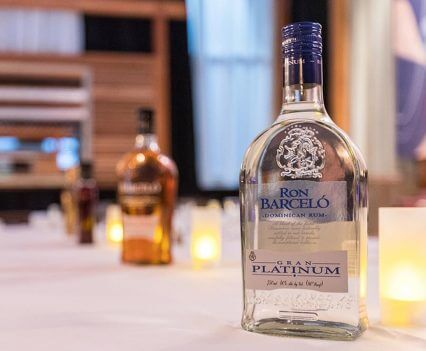 Ron Barceló Platinum bottle
