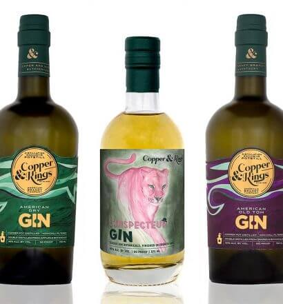 Copper & Kings Launches American Gin Line-Up, featured image