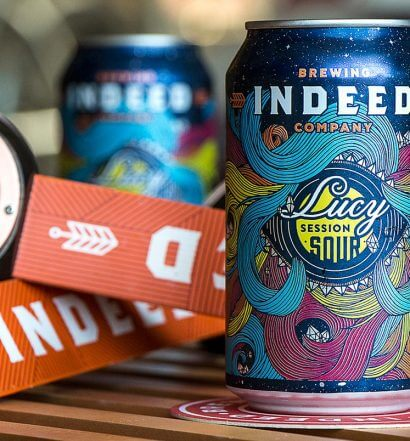 Indeed Brewing Co. Releases Lucy Session Sour Ale and Peach Bum IPA, featured image
