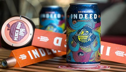 Indeed Brewing Co. Releases Lucy Session Sour Ale and Peach Bum IPA