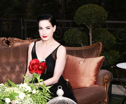The Celebration of Maison St-Germain Hosted by Lily Kwong dita von teese