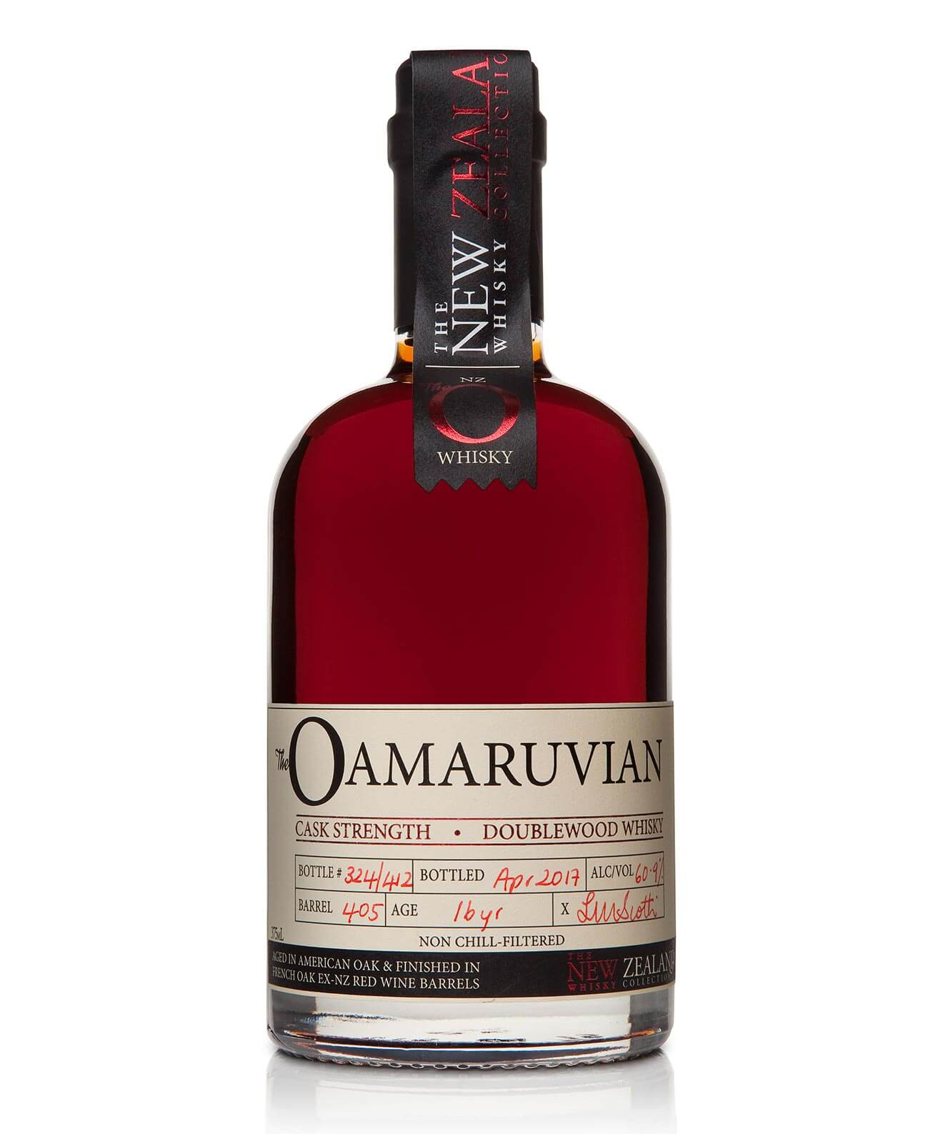 Oamaruvian 16 Year Old Cask Strength DoubleCask, bottle
