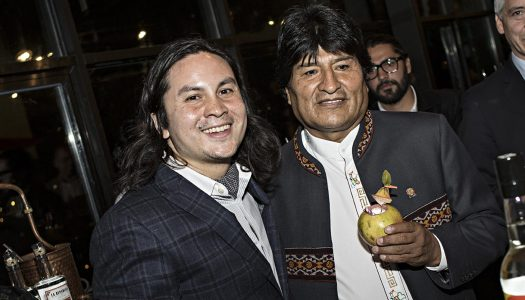 Chilled 100 Ambassador Rael Petit Mixes for President of Bolivia