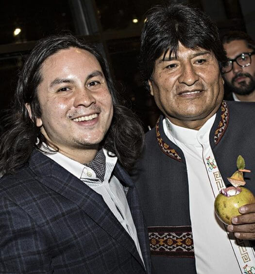 Chilled 100 Ambassador Rael Petit Mixes for President of Bolivia, featured image