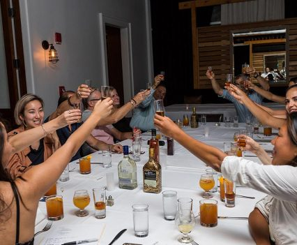 Ron Barceló Celebrates National Rum Day with Paired Dinner cheers