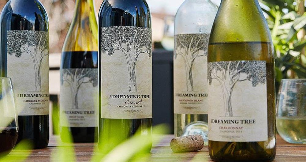 The Dreaming Tree Wines feat, bottle varieties, featured image