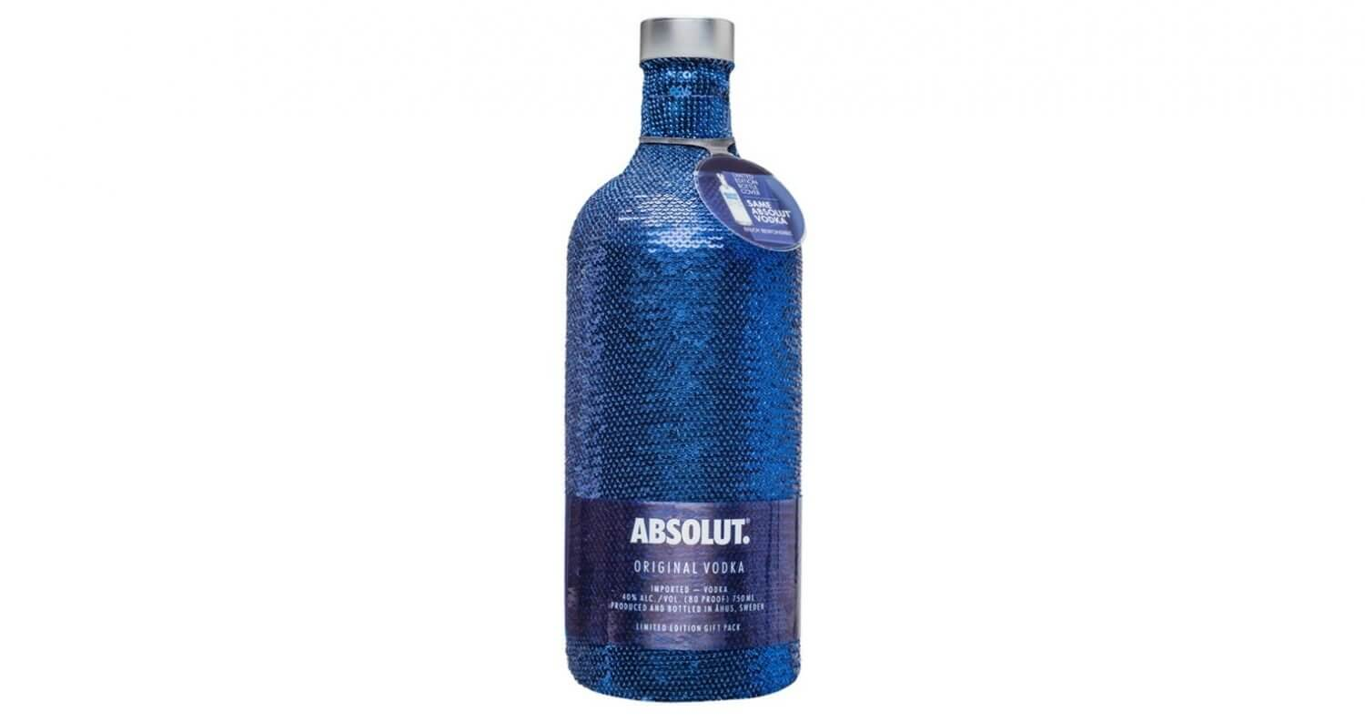 Absolut Launches Limited Edition Sequin Bottle, featured image