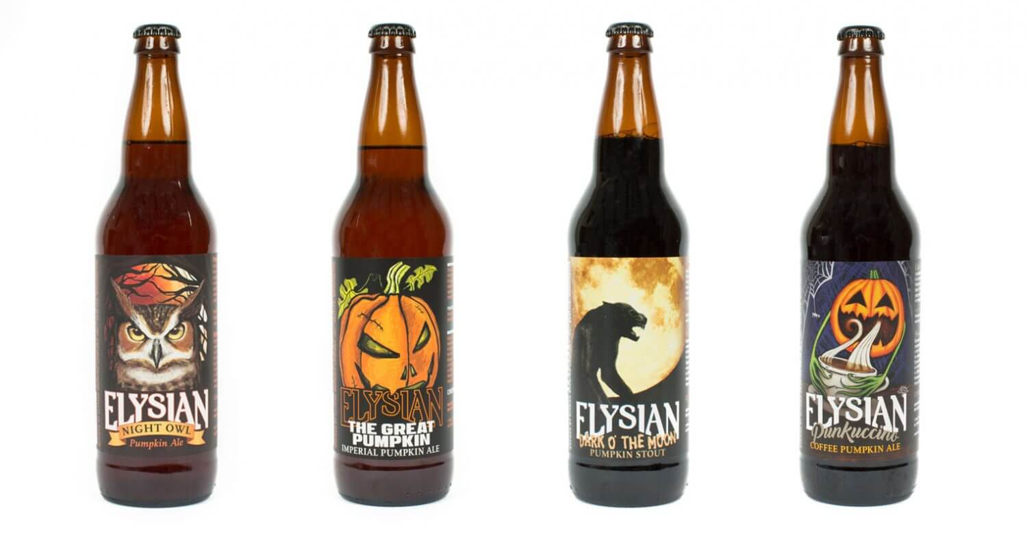 Elysian Brewing Releases Pumpkin Beer Lineup, featured image