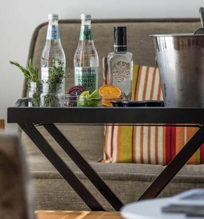 Alec Vlastnik, Bar Manager at Spoonbar, Introduces His Gin & Tonic Bar Cart, featured image