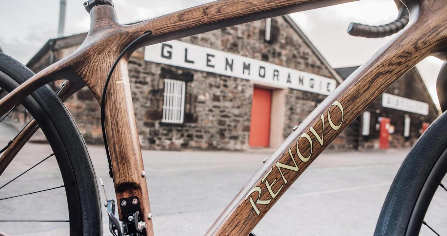Glenmorangie Partners with Renovo to Build Bicycles from Whisky Casks, featured image