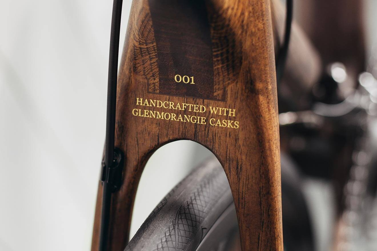 Handcrafted with Glenmorangie Casks