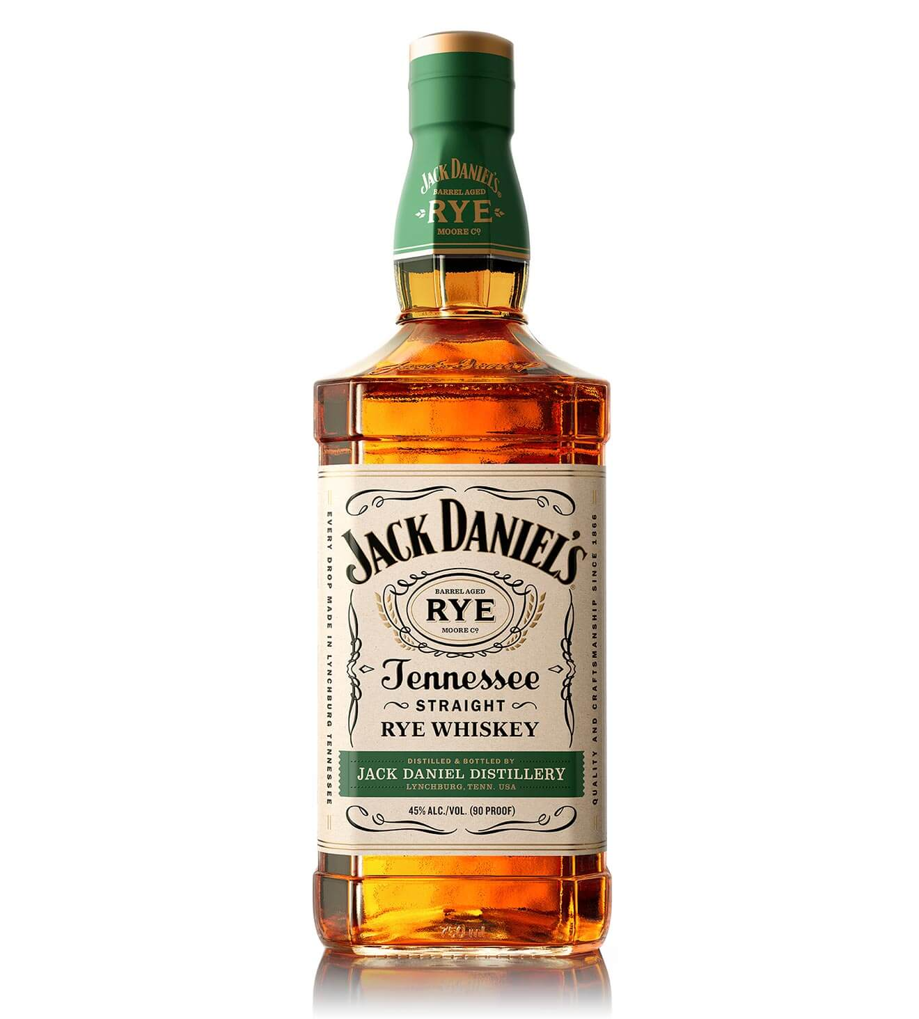 Jack Daniel's Tennessee Rye. bottle