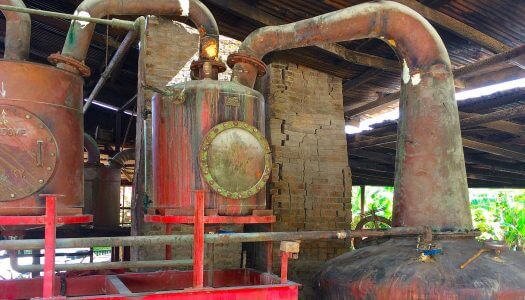 Visiting the River Antoine Estate Distillery in Grenada