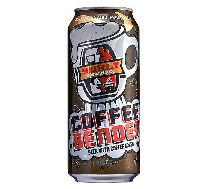 Surly Coffee Bender, pint can