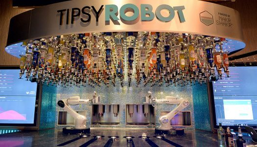 World's First Land-Based Robotic Bar Invades Las Vegas