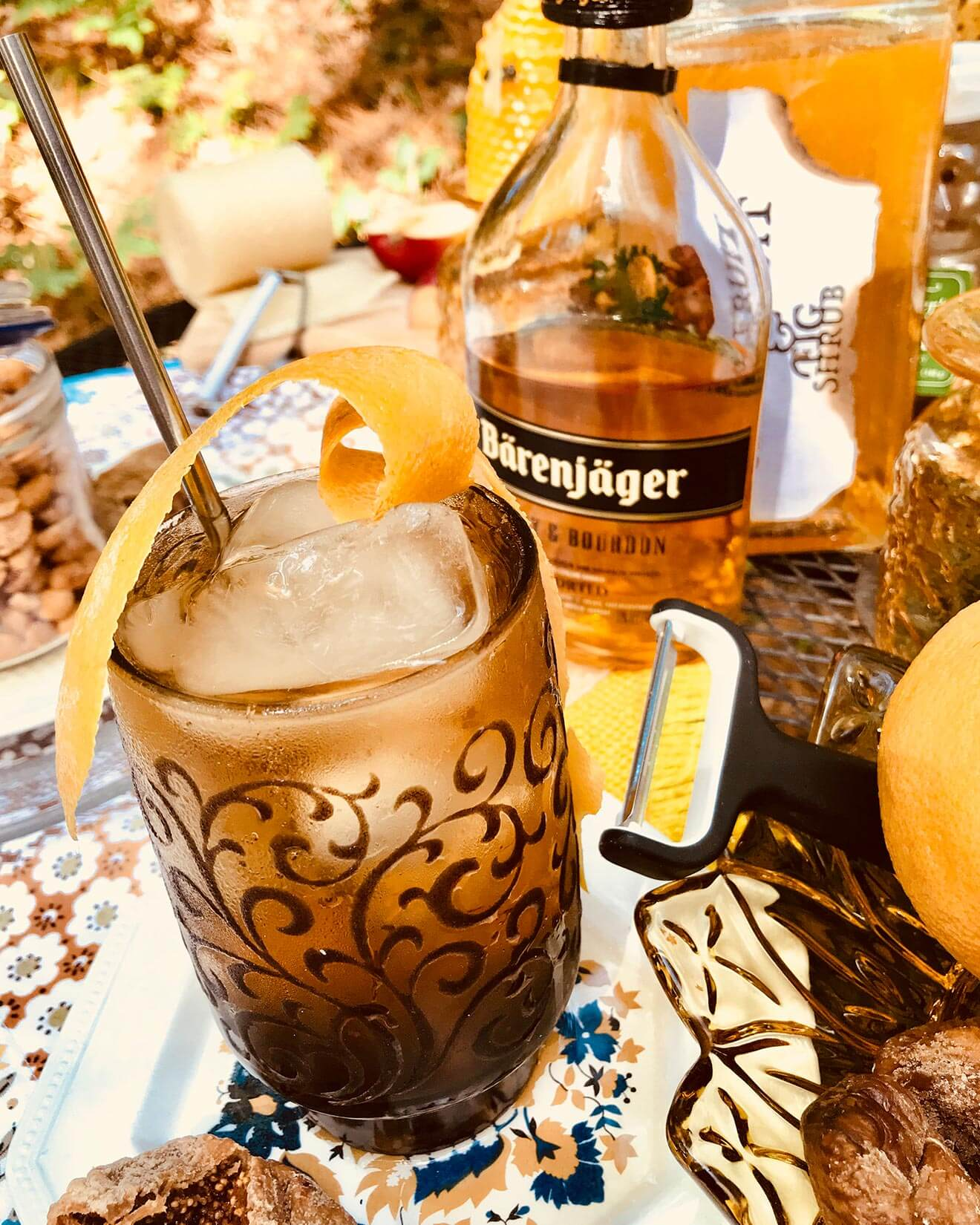 Chilled Drink of the Week: Bearly Forgotten, cocktail with bottle