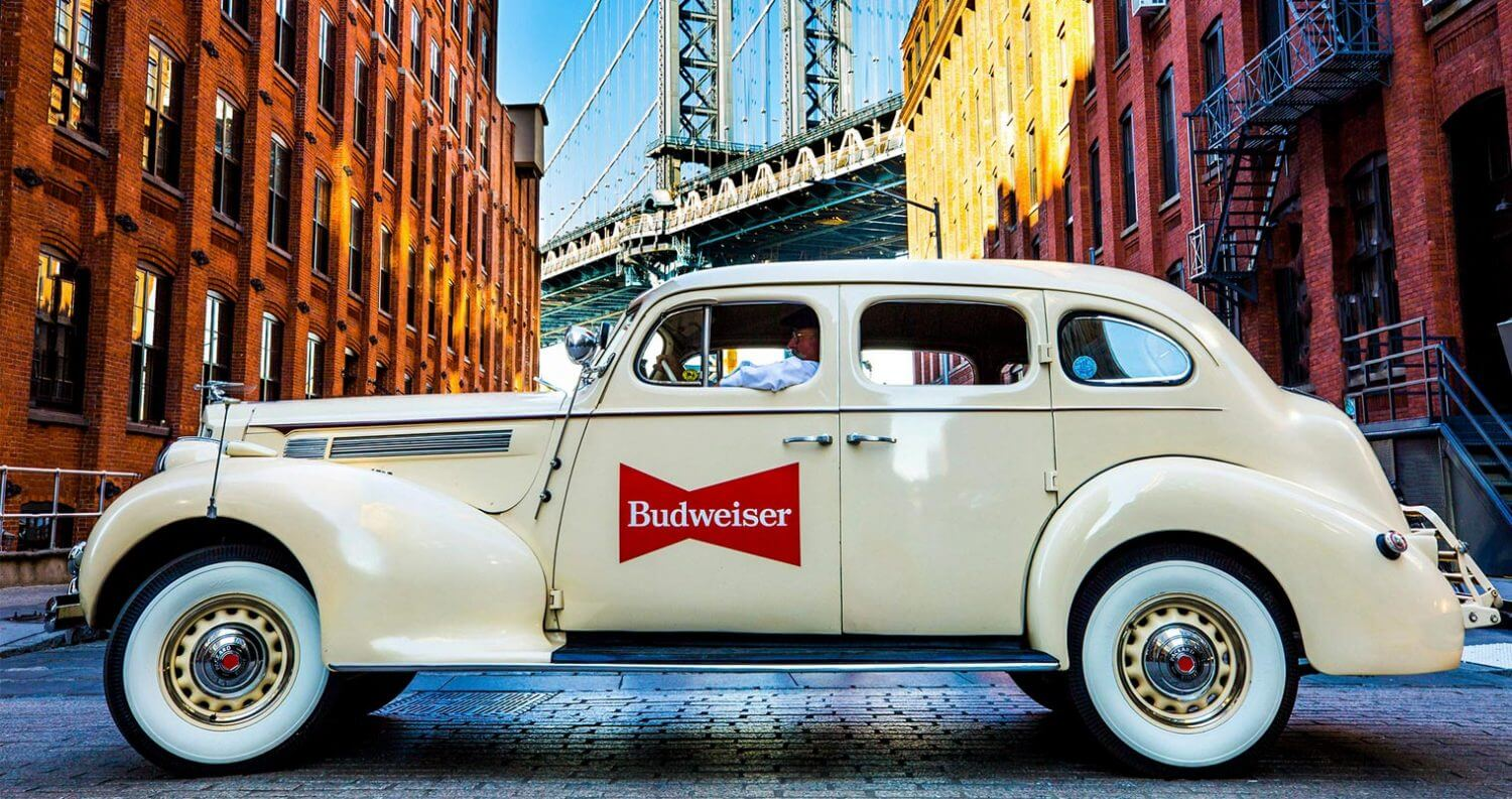 Budweiser Antique Lyft Car, featured image