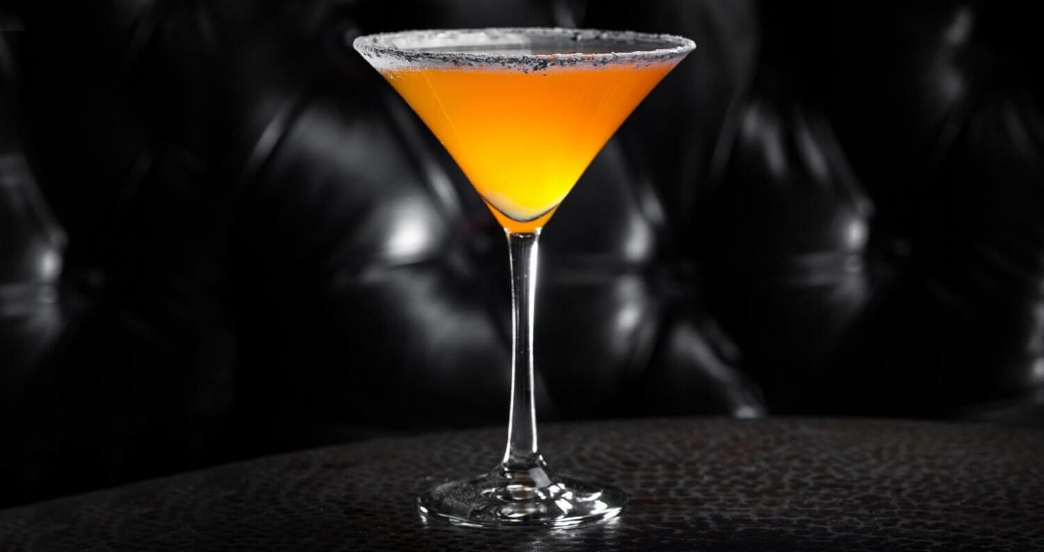 Candy Corn Martini, featured image