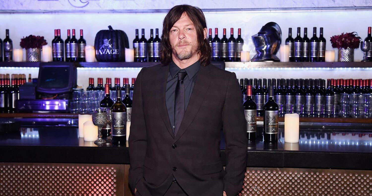 The Walking Dead's Norman Reedus Toasts NY Comic Con with Ravage Wines, featured image