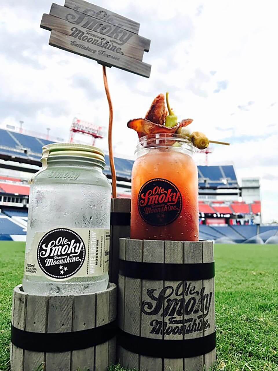 Ole Smoky Tennessee Moonshine Becomes Proud Sponsor of Tennessee Titans